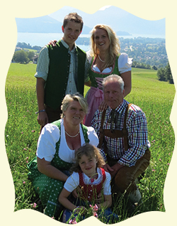 Familie Stabauer Panoramapension Leidingerhof Mondsee